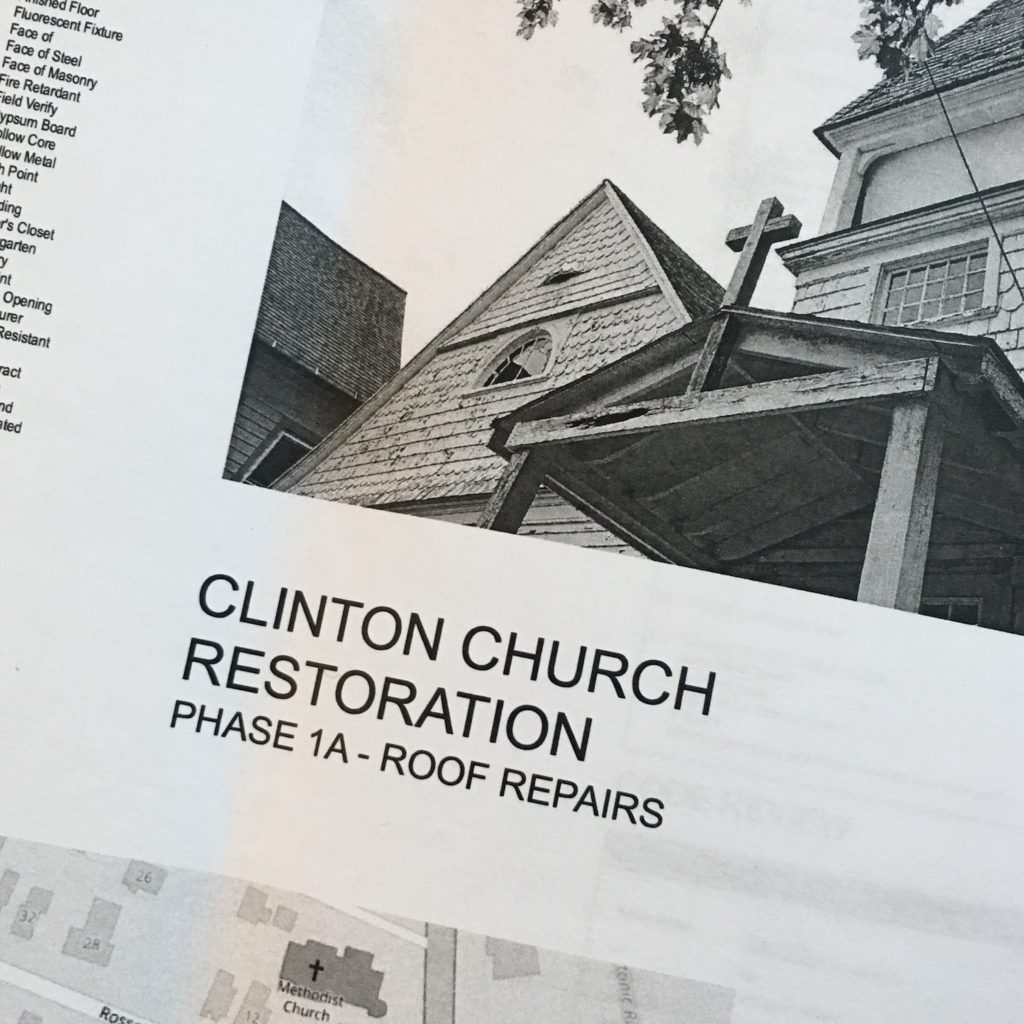 REQUEST FOR PROPOSAL - Clinton Church Restoration